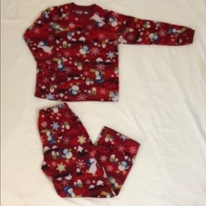 Children's place fleece penguin pjs